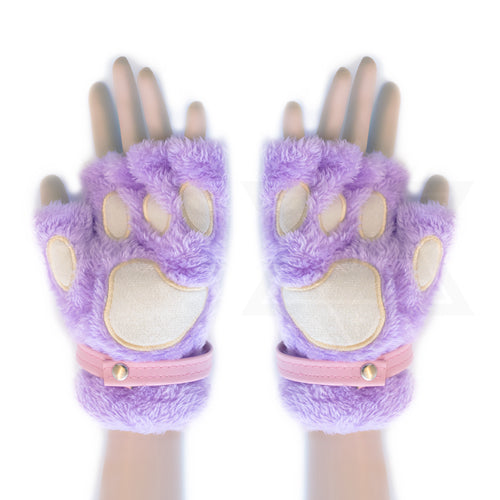 Cosmic kitty gloves
