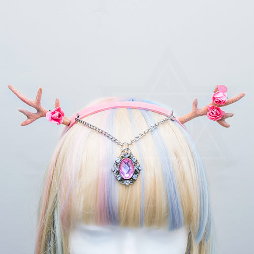 Spring fairy hairband