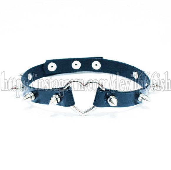 Sweet heart(Black)(TYPE1) Garter/choker
