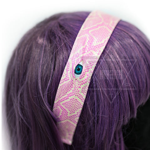 Pink monster hairband