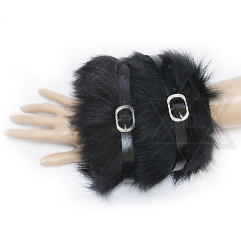 Fur Bangle(White,Black)