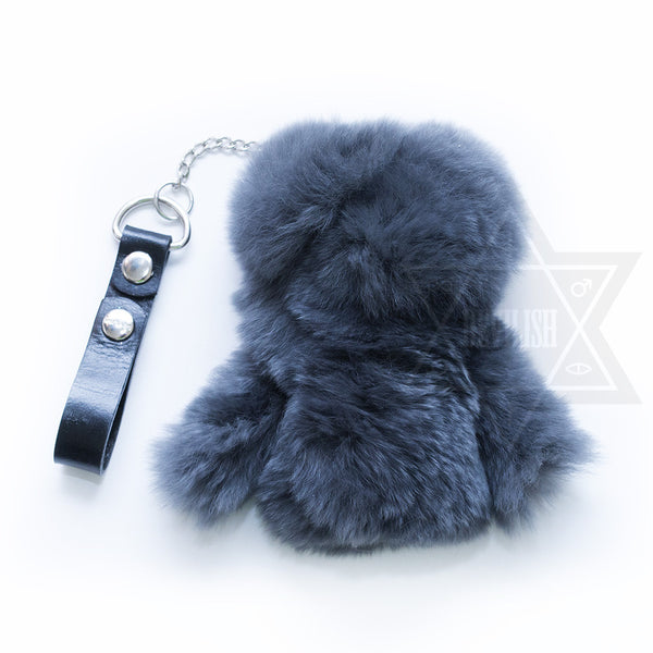 Pentacle fur coat key holder