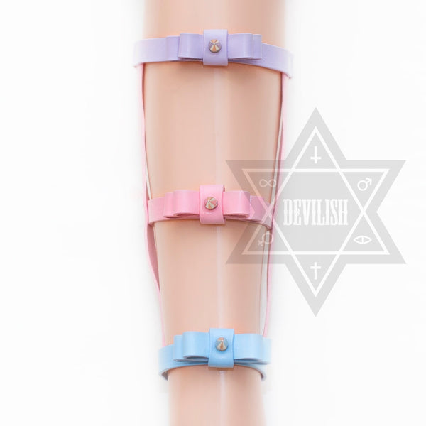Ribbon leg harness(Pastel)