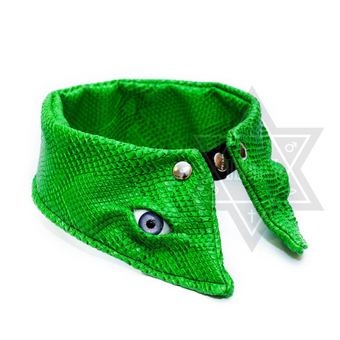 Devil eyes Collar(Green,Black)