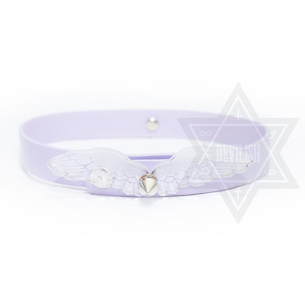 Fallen angel Choker(Purple,Black)