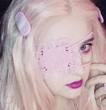 Pastel dream Eye patch