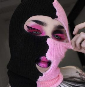 Two sided beanie mask*
