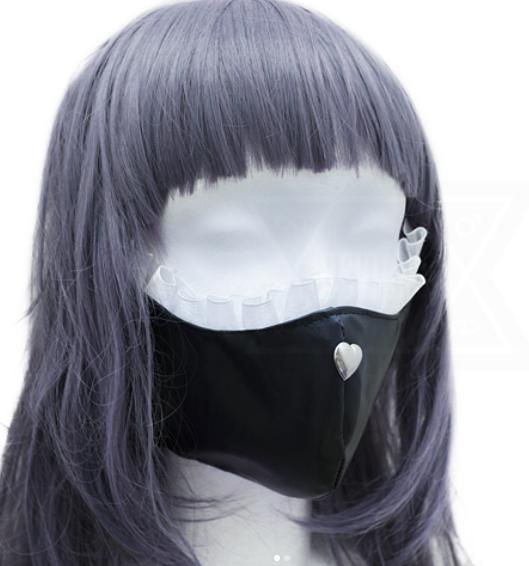Fetish girl mask*