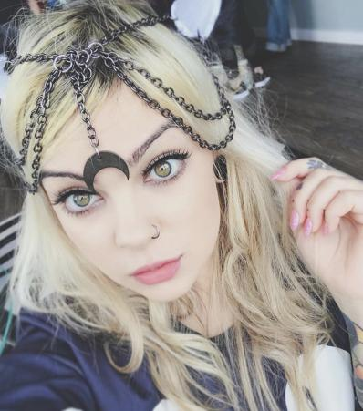 Luna headpiece
