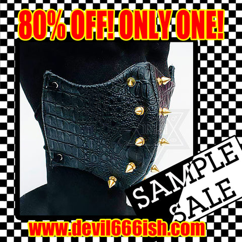 SAMPLE SALE only one! spiky mask