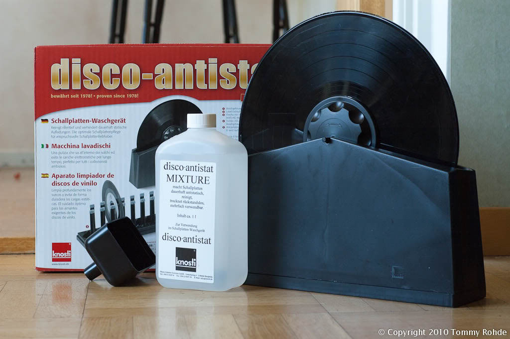KNOSTI K3000 Disco Antistat Kit - Grahams Hi-Fi