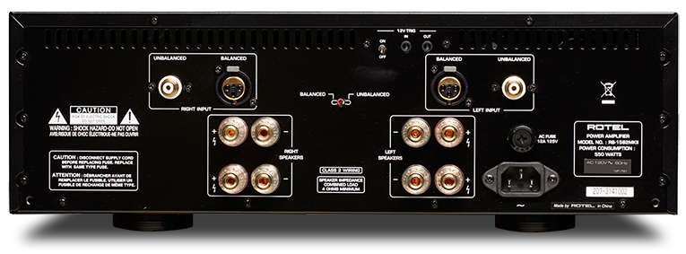 RB-1582 MKII - 2 Channel Power Amplifier