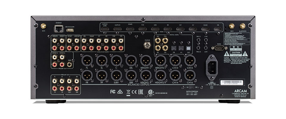 AV40 Surround Sound Processor