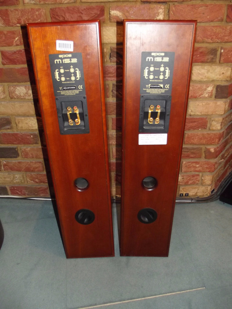 EPOS M15.2 Loudspeakers (Dark Cherry) - Second Hand - Grahams Hi-Fi