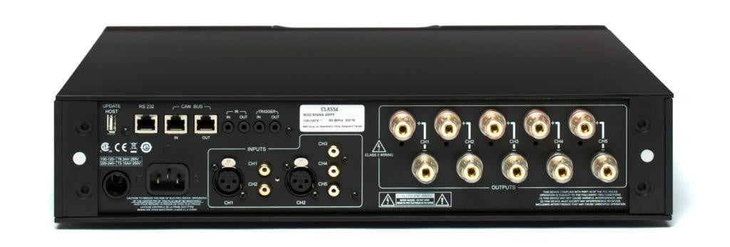 Sigma AMP5 5 Channel Power Amplifier