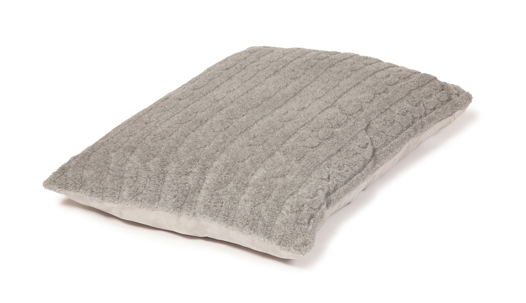 Bobble Soft Pewter Extra Thick Dog Duvet