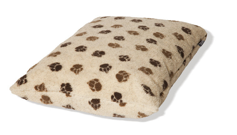 Beige Sherpa Fleece Extra Thick Dog Duvet