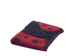 Wine Sherpa Fleece Blanket