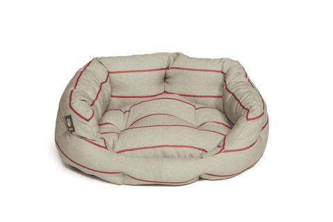 Heritage Herringbone Deluxe Slumber Dog Bed