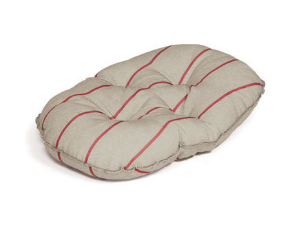 Heritage Herringbone Quilted Dog Mattress