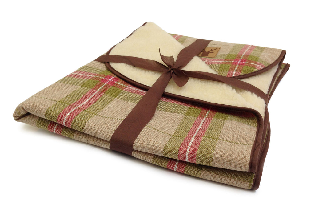 Newton Moss Dog Throw