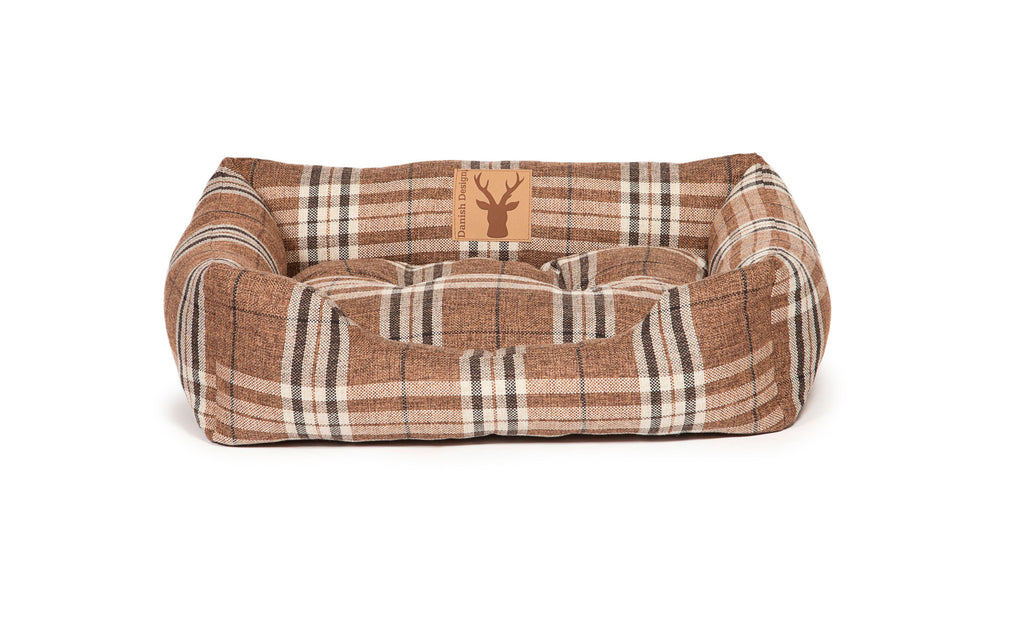 Newton Truffle Snuggle Dog Bed
