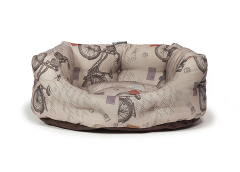 Vintage Bicycles Deluxe Slumber Dog Bed