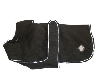 Luxury Dog Coat Ebony