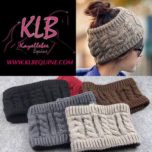 Warm winter headbands