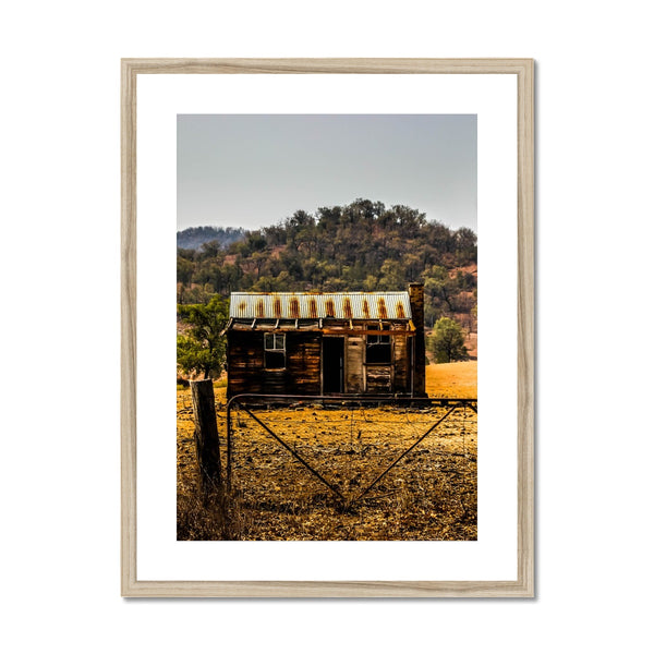 Old Hut Framed & Mounted Print
