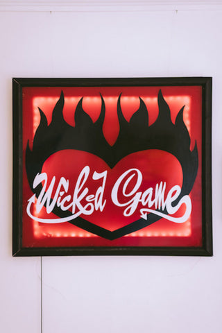 Hand Painted Wicked Game Light Up Picture