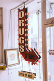 Hand Painted Drugs Store Illuminated sign