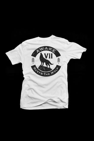 VII / Rust and The Wolf Collaboration T- Shirt  **SOLD OUT**