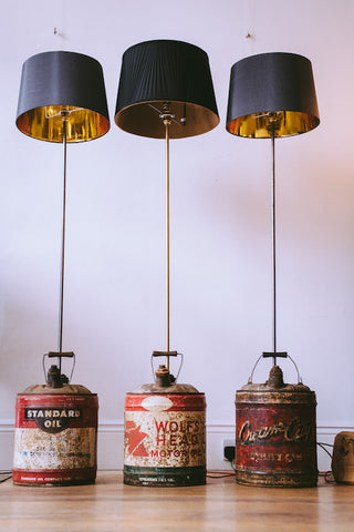 Wolf's Head Oil Can Standard Lamp
