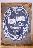 Hand Painted Ford Motor Co. Sign