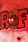 Hand Painted Rat Fink Art