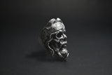 """Brotherhood"" Skull Ring"