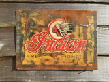 Hand Painted Indian Motorcycles Sign