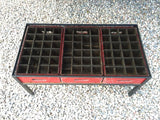 Skowhegan Bottling Co. Crate Table - (Three Crate)