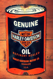 Genuine Harley Davidson Oil Can Sign