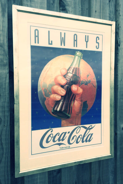 Coca Cola Vintage Advertising Poster