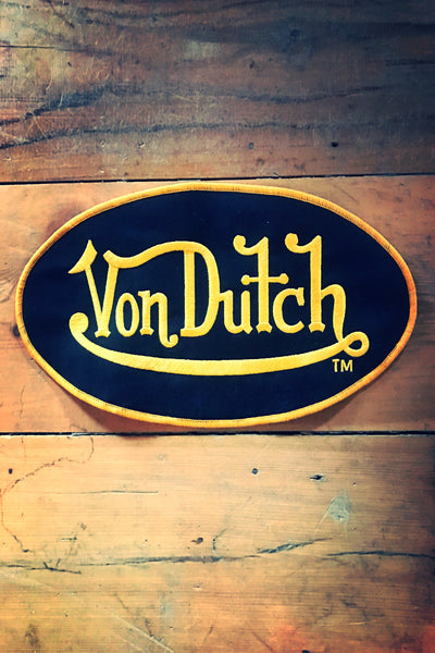 large Von Dutch Sew On Patch