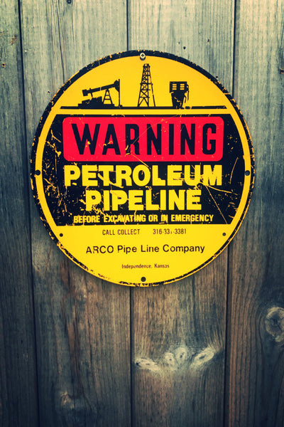 Old U.S. Petroleum Pipeline