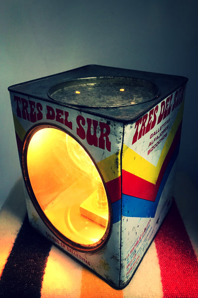 Argentinian Biscuit Tin Light