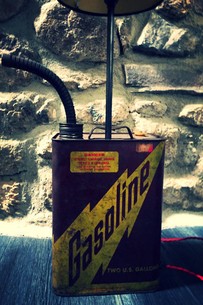 Gasoline Can Side Light