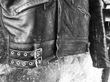 1960's Leather Biker Jacket