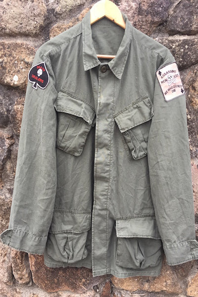 "Vietnam ""Death Dealers"" Jungle Jacket"