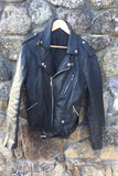 "1980's Leather ""Brando"" Biker jacket"