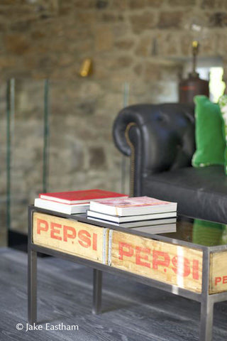 Pepsi Cola Crate Table (Double Crate Table)