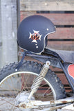 Hand Painted 69 Iron Cross Biltwell Helmet